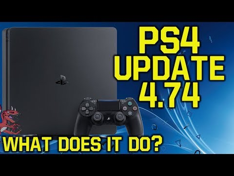 PS4 Update 4.74 Out Now! ALL INFO & Important note for PS4 5.0 Testers (New PS4 Update - PS4 4.74)