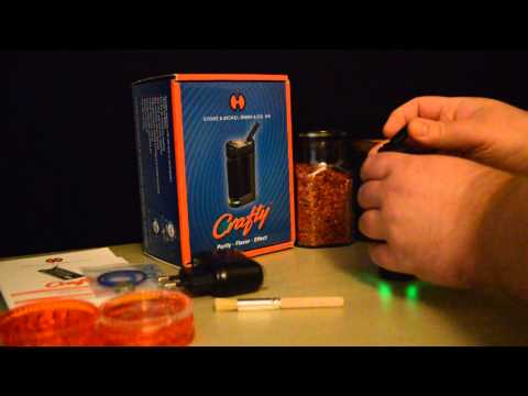 Crafty Portable Vaporizer by Storz & Bickel – First Impressions