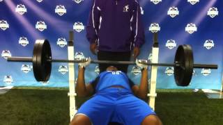 Mike Hall 225 Rep Test