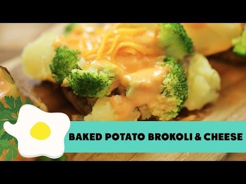Resep Baked Potato Broccoli & Cheese