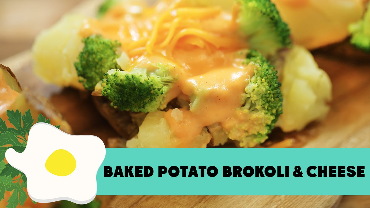 Resep Baked Potato Broccoli Cheese