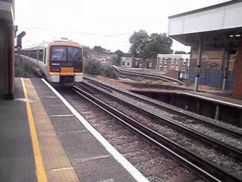 Trains at Brixton and Herne Hill