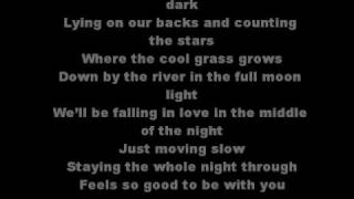 Fishin in the dark with lyrics