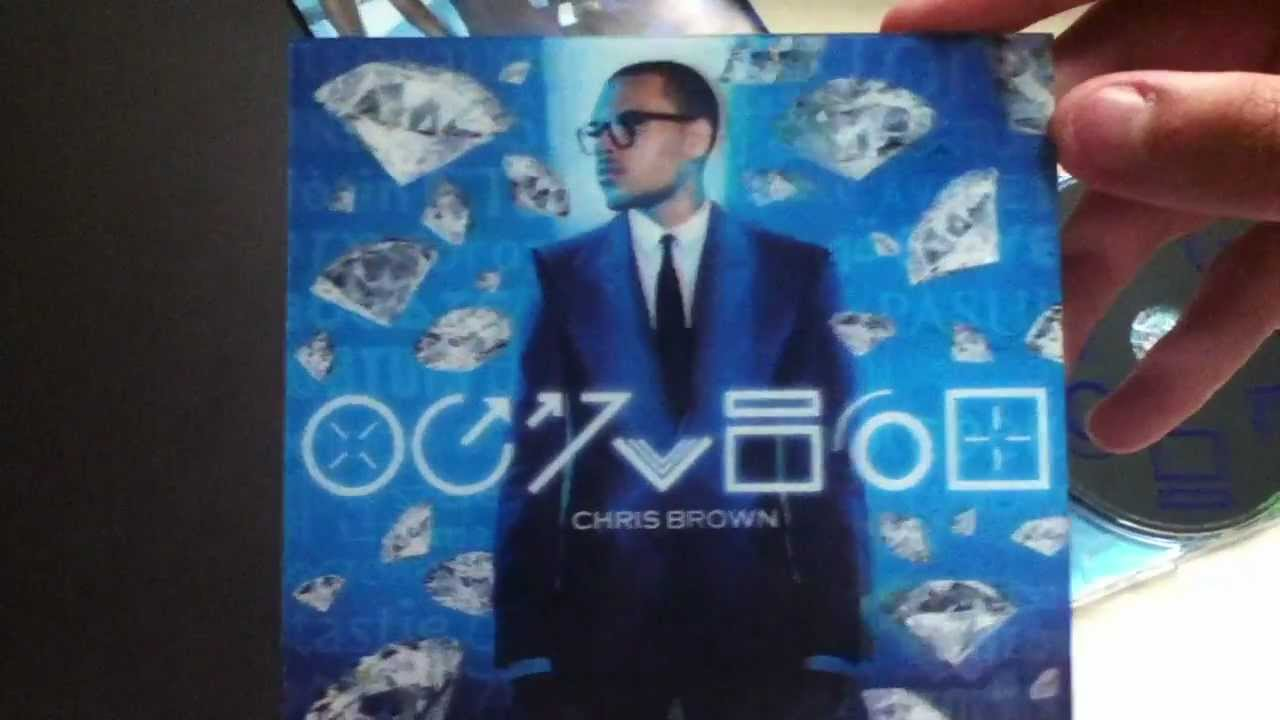 Unboxing Chris Brown's FORTUNE (Deluxe Edition) - YouTube
