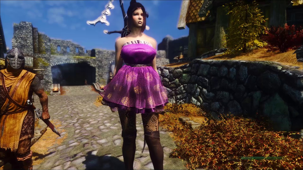 Cute Mini Dress Skyrim - raveitsafe