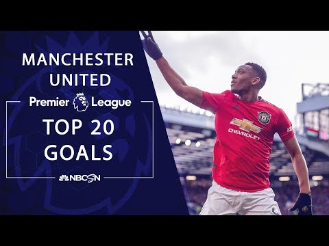 Top 20 goals from Manchester United through Matchweek 29 | Premier League | NBC Sports