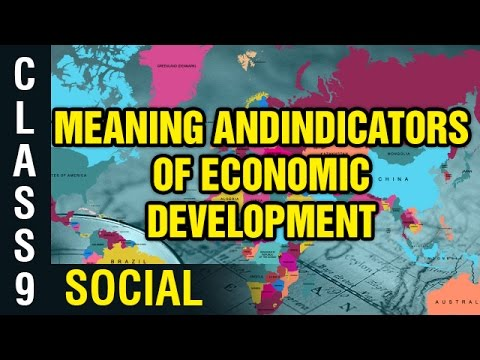 Meaning And Indicators Of Economic Development | 9th Class Social | Digital Teacher