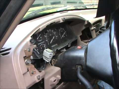 93 Bronco Headlight Switch Youtube