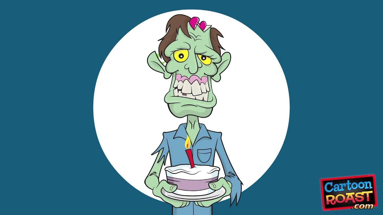 Happy birthday song zombie sings birthday greeting youtube bookmarktalkfo Choice Image