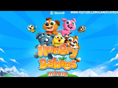 Hungry Babies Mania (By Storm8 Studios) iOS / Android Gameplay Video