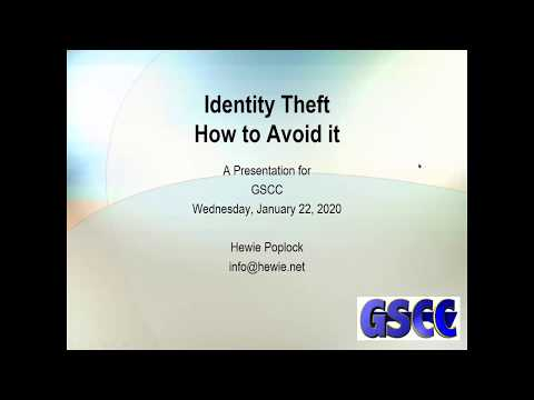 Identity Theft   How To Avoid It