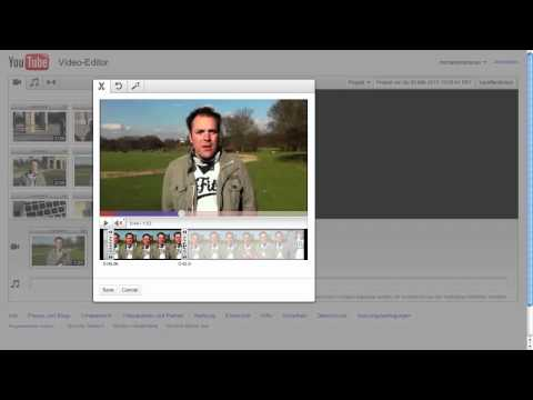 YouTube Video Editor Tutorial