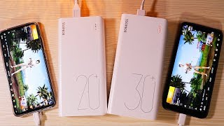 rOMOSS Sense 6 Plus 20,000mAh Powerbank Unboxing