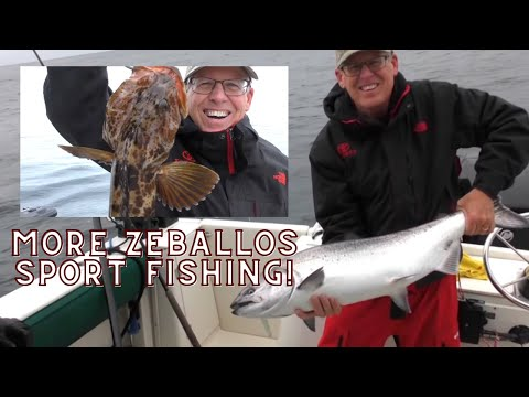 Vancouver Island Sport Fishing Out Of Zeballos