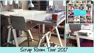 Scrap Room Tour 2017