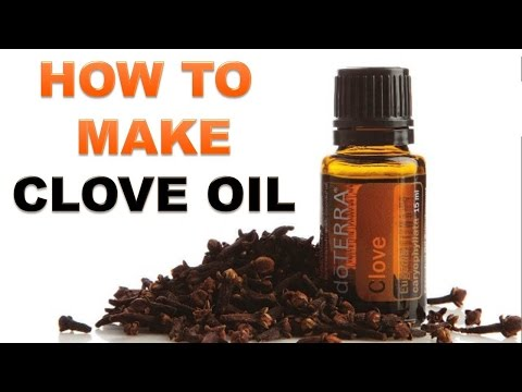 How To Make Clove Oil at Home - SIMPLY & EASILY