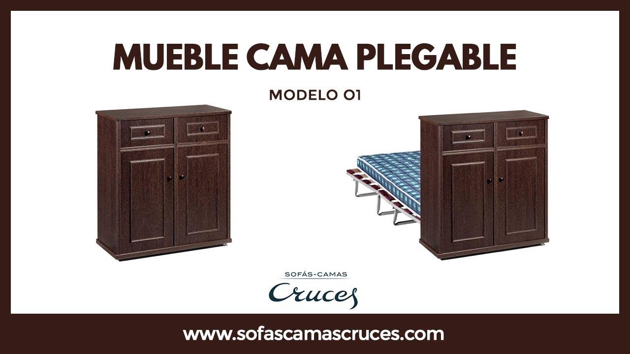 Mueble cama plegable perfecto para recibir invitados for Mueble cama plegable