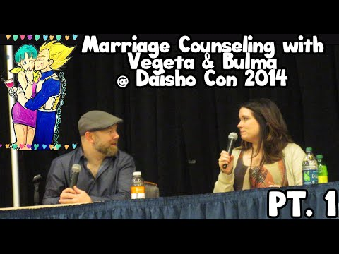 Marriage Counseling with Vegeta & Bulma @ Daisho Con 2014 Part 1