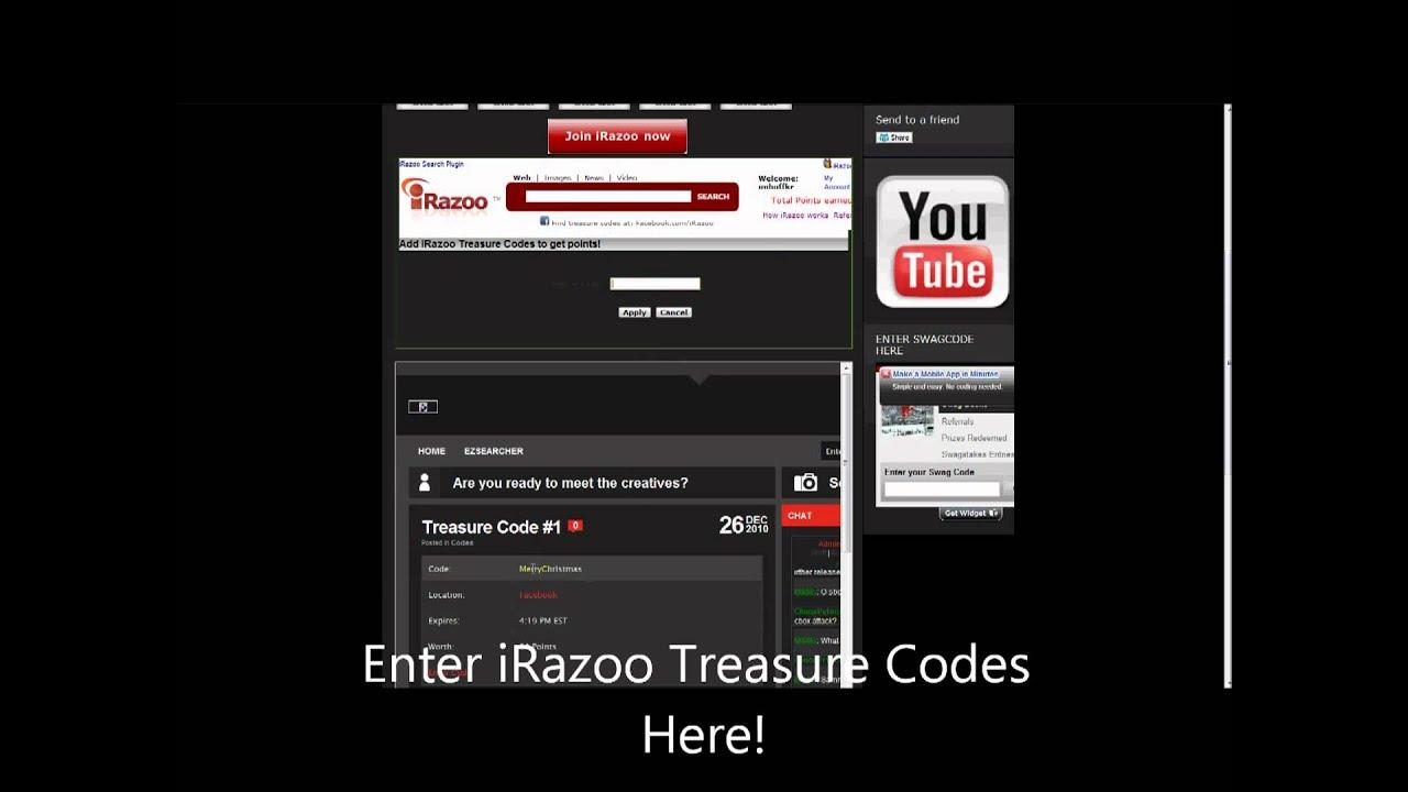 Irazoo codes