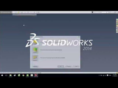 Hướng dẫn đặt lệnh tắt trong solidwork 2014