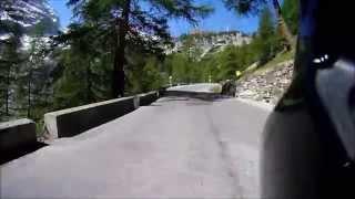 Alps Stilfser Joch Mountain Pass