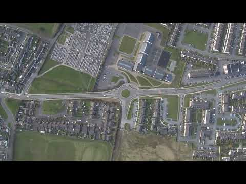 Drogheda from above - Xiaomi Mi Drone 4k - Aerial Photography Ireland