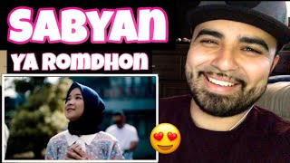 "Reacting to Sabyan "" YA ROMDHON"""