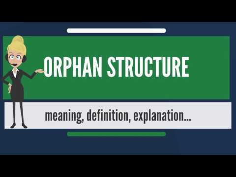 What is ORPHAN STRUCTURE? What does ORPHAN STRUCTURE mean? ORPHAN STRUCTURE meaning & explanation