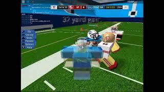 ROBLOX LEGENDARY FOTBALL 49ers @ Titans QTR 1