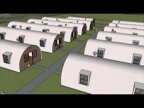 3D reconstruction of World War II Prisoner of War Camp
