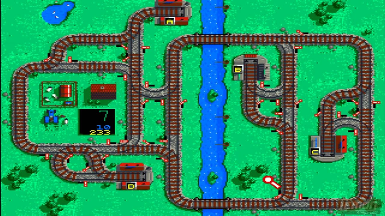Locomotion (Amiga) (Kingsoft) - A Playthru Guide and Review - by  LemonAmiga com