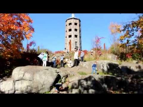 Duluth,  Minnesota, USA. Video tour.  The hottest fall day ever 84 F !!! October, 11. 2015