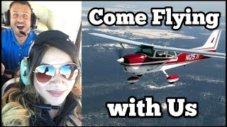 What The Hale$ Visit the Wayne County Airport / George Air Ubers A Cessna 172