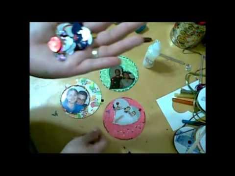 Discos para mis fotorecuerdos recicla dvds cds idea - Manualidades para chicos ...