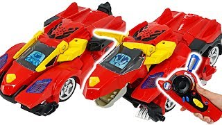 Transform dinosaur VTech Switch and Go Dinos Turbo Bronco the RC Triceratops! #DuDuPopTOY