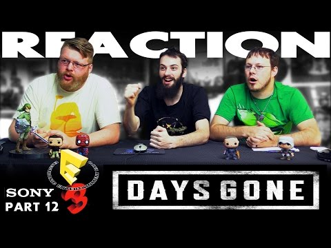 Days Gone Demo REACTION!! Sony E3 2016 Conference 12/12
