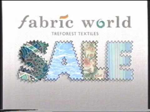 Fabric World Advert (1989)