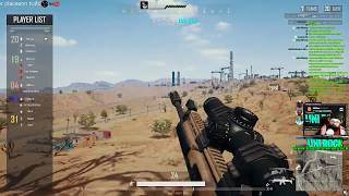 PUBG CHEATER RECORDED LIVE, SEE THROUGH THE AIMBOTTERS EYES