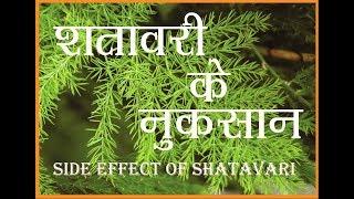 शतावरी के  नुकसान | Side Effect of Shatavari thumbnail