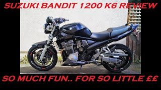 2007 SUZUKI BANDIT 1200 (K6) REVIEW AND THOUGHTS