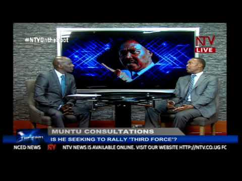 ON THE SPOT:Is former FDC president Mugisha Muntu trying to rally a political third force
