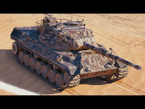 World of Tanks Leopard 1 - 5 Kills 9,3K Damage thumbnail