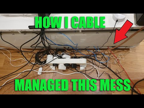 Cable Management Guide 2020 | How I Cable Managed My Setup!