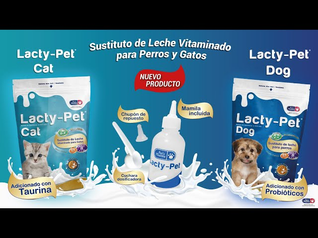 NUEVO PRODUCTO LACTY-PET CAT/DOG