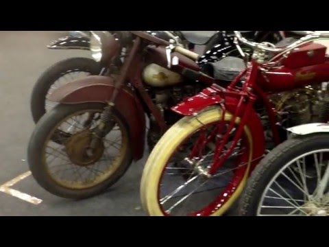 Classic Nimbus Indian Seeley MV trike , Central Classics Houten 2015 NL
