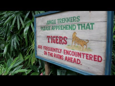 Maharaja Jungle Trek at Disney's Animal Kingdom