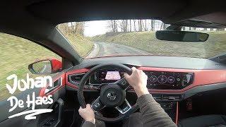 2018 VW Polo GTI 200hp POV test drive