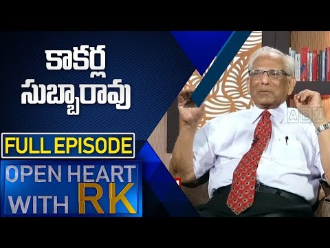 NIMS Ex Director Dr Kakarla Subba Rao | Open Heart with RK | Full Episode | ABN Telugu