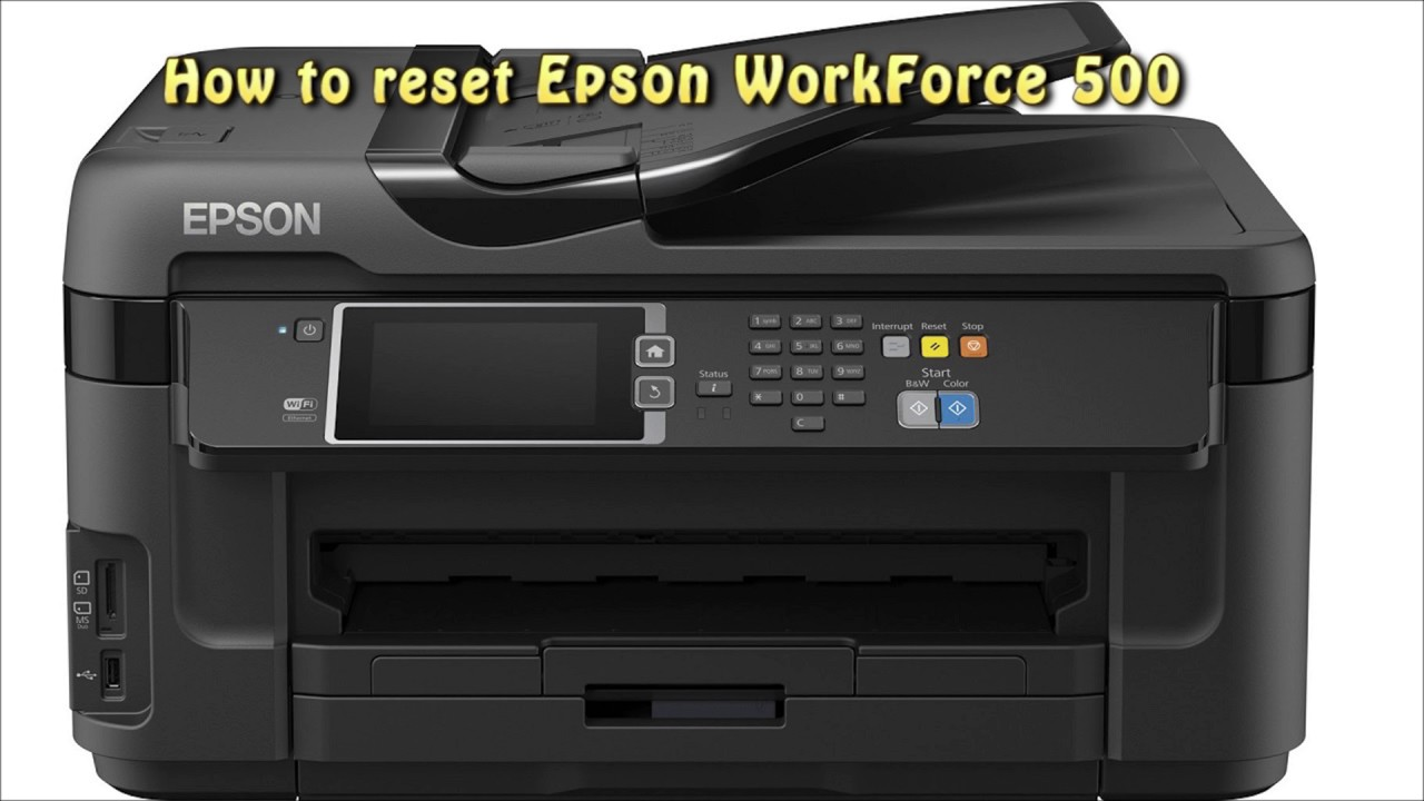 EPSON WORKFORCE 500 PRINTER WINDOWS 8 X64 DRIVER