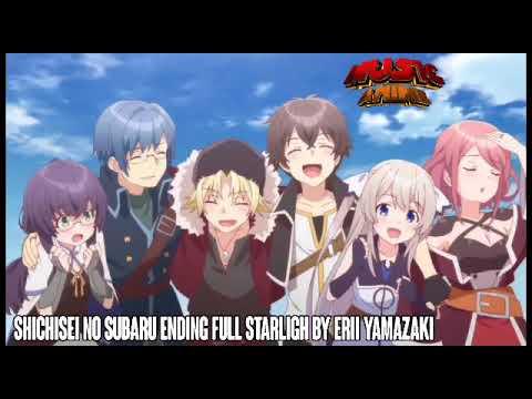 Shichisei No Subaru Ending Full Starlight By Erii Yamazaki